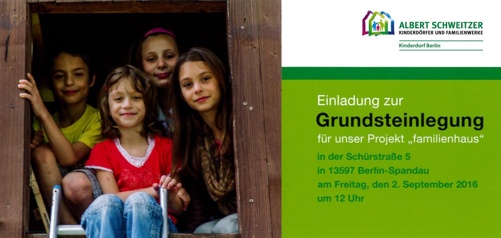 F r die ganze familie wird ein ort geschaffen for Familienhaus berlin