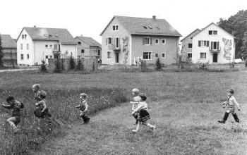 Die ersten Häuser 1960