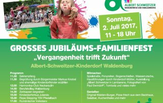 Jubiläums-Familienfest