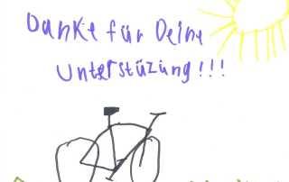 Ein Therapie-Fahrrad für Jonathan