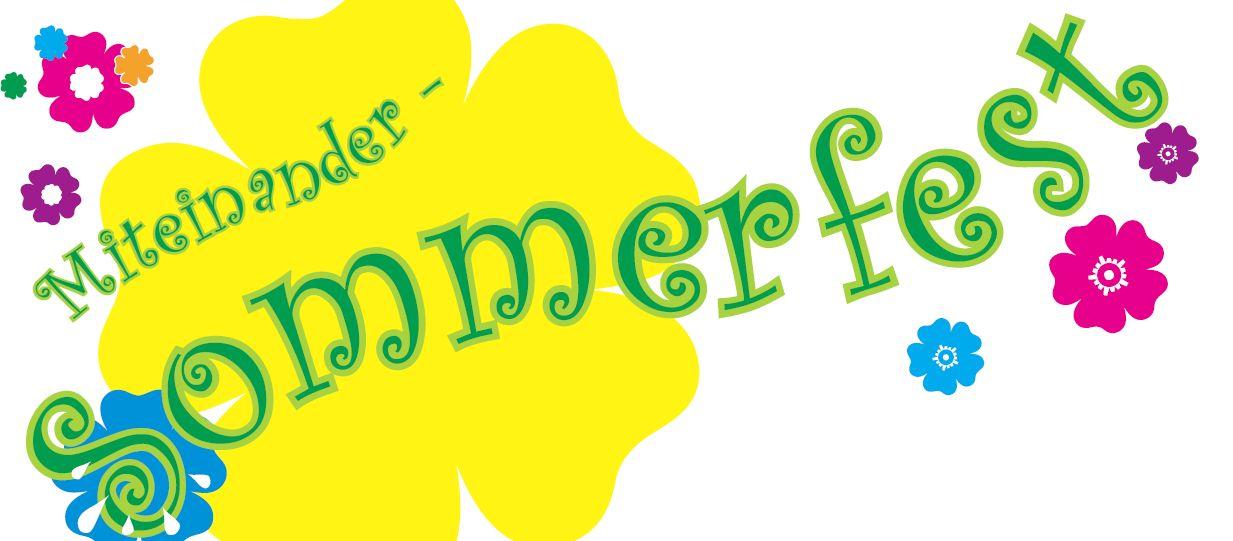Flyer Einladung Sommerfest