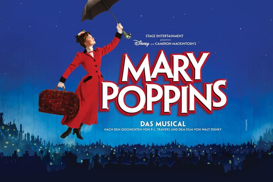 Plakat von Marry Poppins