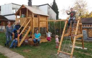 Klettergerüst Albert Schweitzer Familienwerk Niedersachsen