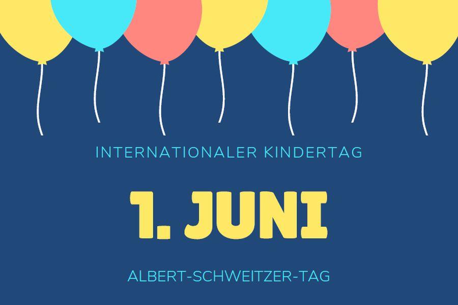Kindertag Ist Albert Schweitzer Tag Kinderdörfer Albert