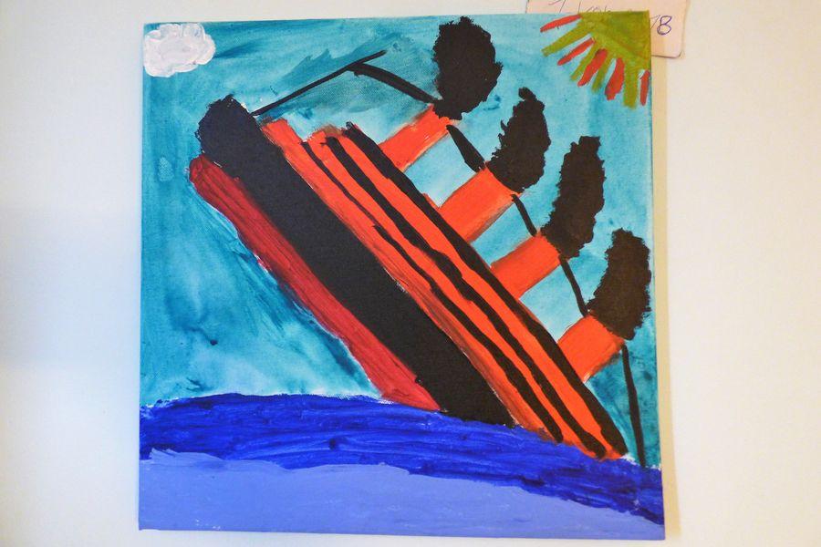 Titanic Gemälde