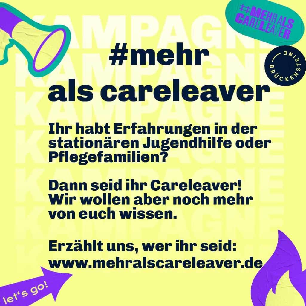 Mitmachaufruf Careleaver