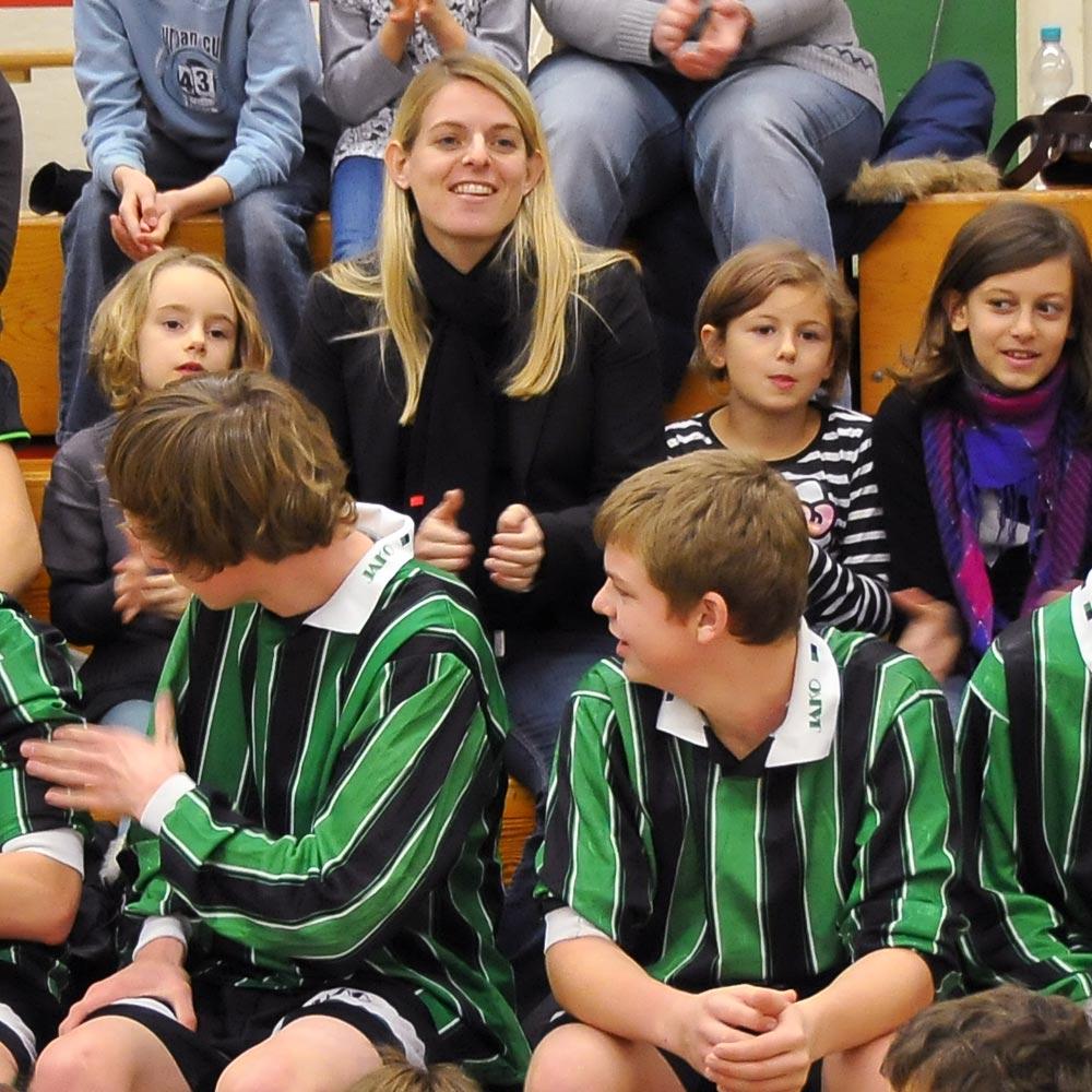 Unsere Botschafterin Nia Künzer